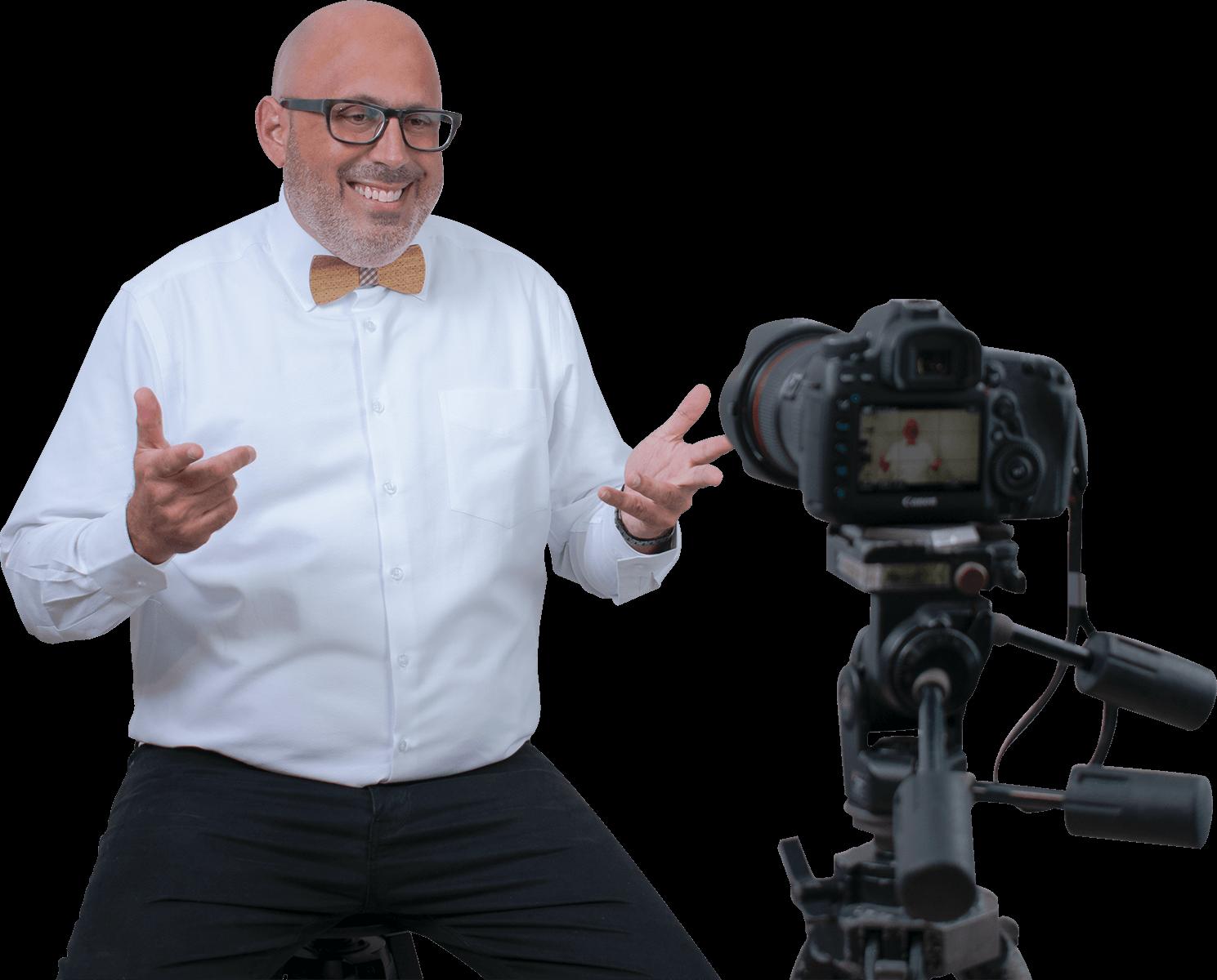 Dr. Derek Greenfield online motivational speaker